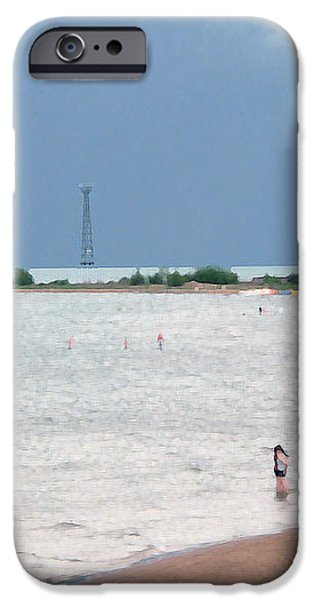 Summer Lake iPhone Case by David Bearden