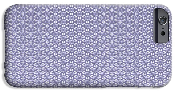 White Cloth iPhone Cases - Summer Lilac Lace iPhone Case by Georgiana Romanovna
