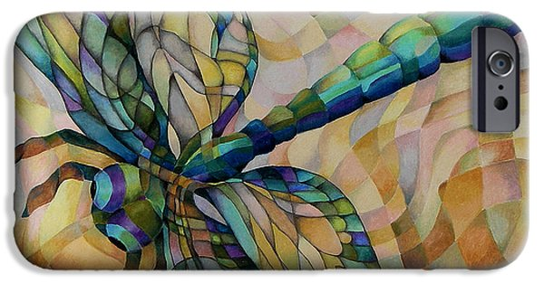 Mosaic Pastels iPhone Cases - Summer iPhone Case by Marilyn Callahan