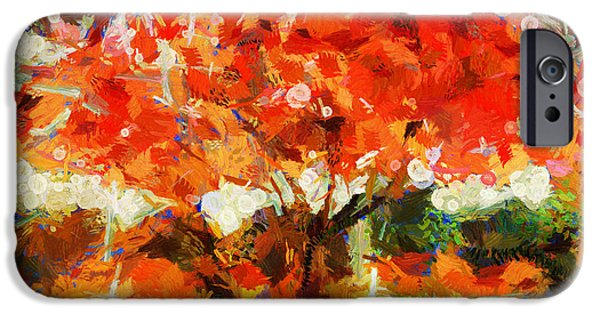 D.c. iPhone Cases - Summer Of Desire - Painting iPhone Case by Sir Josef  Putsche