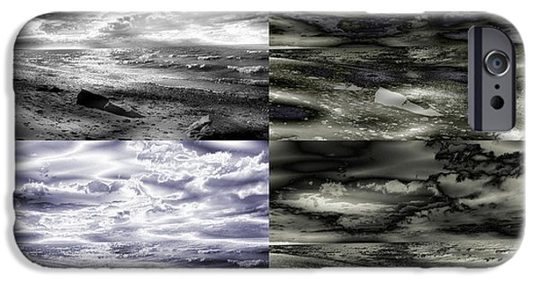 Nature Abstracts iPhone Cases - Summer On The Rocks iPhone Case by Stephen  Killeen