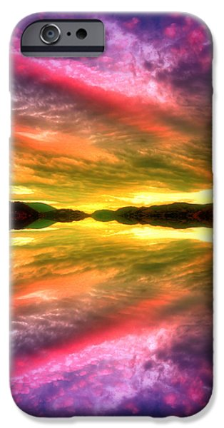 Tara Turner iPhone Cases - Summer Skies at Skaha iPhone Case by Tara Turner