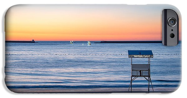 Luz iPhone Cases - Summer sunset iPhone Case by Delphimages Photo Creations
