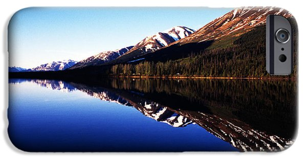 Pm iPhone Cases - Summit Lake Reflections iPhone Case by Thomas R Fletcher