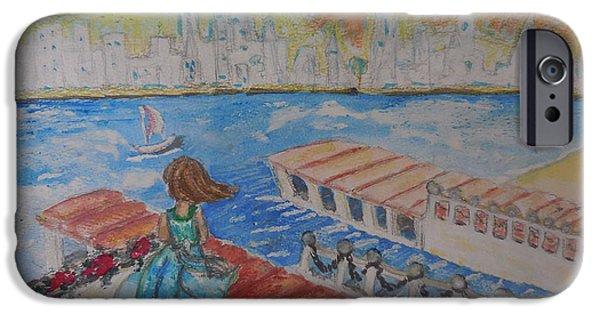 City. Boston iPhone Cases - Sun city iPhone Case by Daria Zhdan-Pushkina