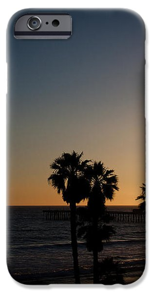 sun going down in california iPhone Case by Ralf Kaiser