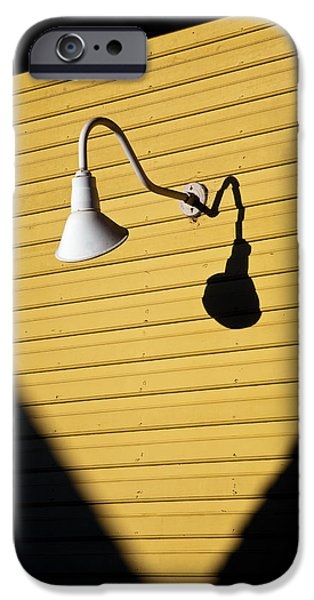 Dave iPhone Cases - Sun Lamp iPhone Case by Dave Bowman