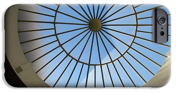 Alcatraz iPhone Cases - sun roof S F N M architecture iPhone Case by Tina M Wenger