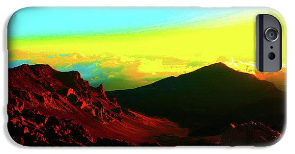 Red Rock iPhone Cases - Sun Valley iPhone Case by Stephen Edwards