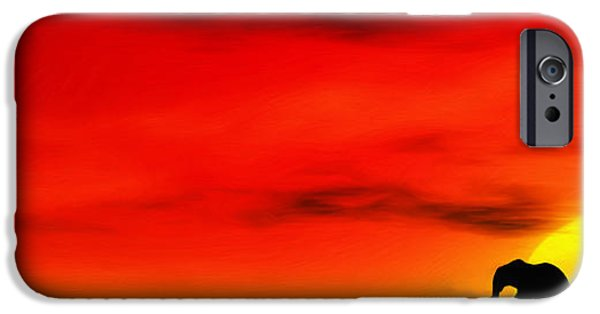 Power iPhone Cases - Sundown iPhone Case by John Edwards