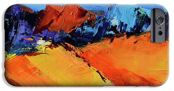 Vivid iPhone Cases - Sunlight in the Valley iPhone Case by Elise Palmigiani