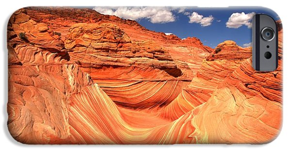 The Plateaus iPhone Cases - Sunny Northern Arizona Landscape iPhone Case by Adam Jewell