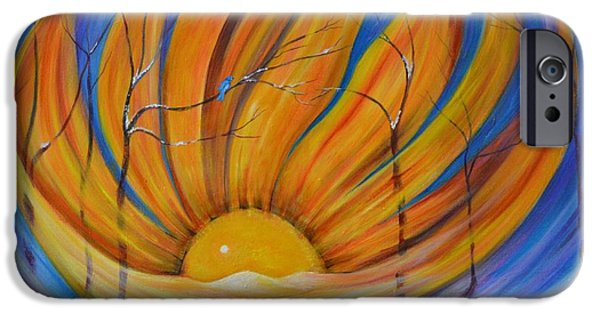 Connection iPhone Cases - Sunny Side Up iPhone Case by Vicki Caucutt