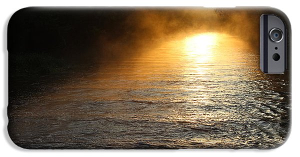Mist iPhone Cases - Sunrise  iPhone Case by Adele Sorrentino-George