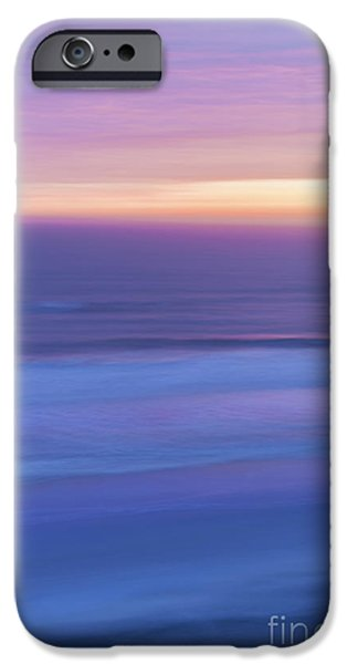 Blue Abstracts iPhone Cases - Sunrise Atlantic 3 iPhone Case by Elena Elisseeva