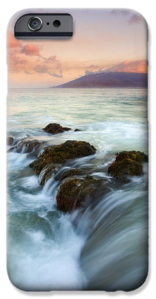 Ebb iPhone Cases - Sunrise Drain iPhone Case by Mike  Dawson