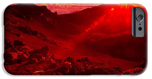Best Sellers -  - Moonscape iPhone Cases - Sunrise Haleakala iPhone Case by Harry Spitz
