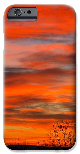 Sunrise in Ithaca iPhone Case by Paul Ge