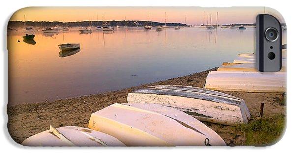 Sunrise iPhone Cases - Sunrise in Osterville Cape Cod Massachusetts iPhone Case by Matt Suess