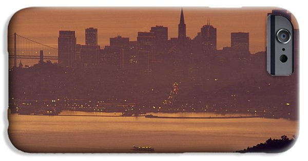 Sausalito iPhone Cases - Sunrise Over San Francisco iPhone Case by Soli Deo Gloria Wilderness And Wildlife Photography