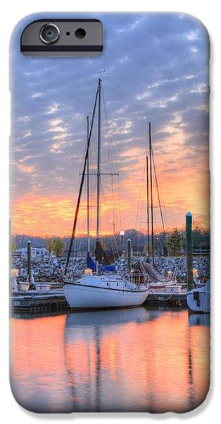 Alexandria iPhone Cases - Sunrise Splendor iPhone Case by JC Findley