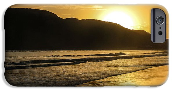 Sports Tapestries - Textiles iPhone Cases - Sunrise surprise iPhone Case by James Hennis