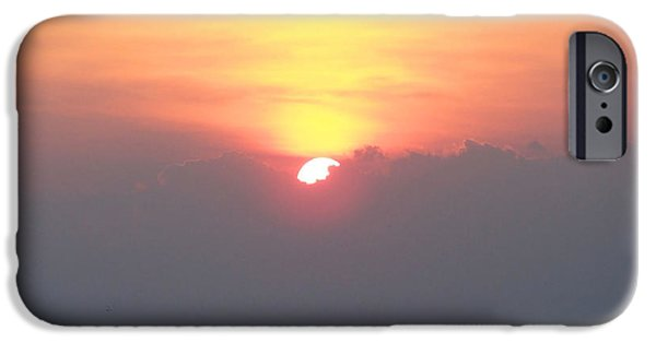 Storm iPhone Cases - Sunset And The Storm iPhone Case by Sandi OReilly