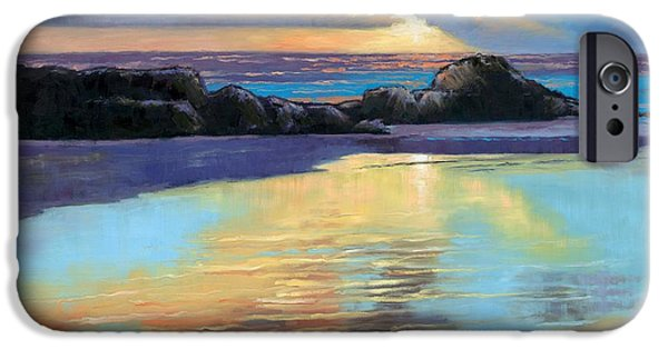 Best Sellers -  - Janet King iPhone Cases - Sunset at Havika Beach iPhone Case by Janet King