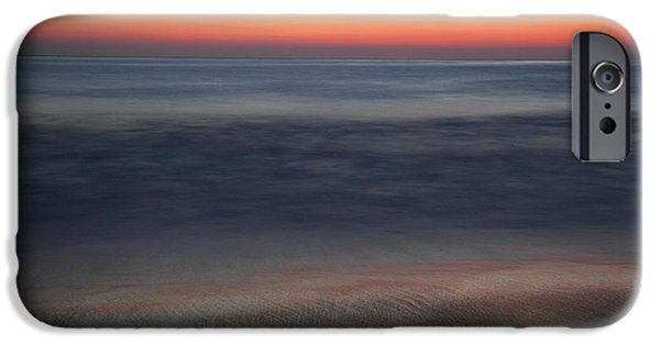 Surf Lifestyle Photographs iPhone Cases - Sunset at Huntington beach iPhone Case by Pierre Leclerc Photography