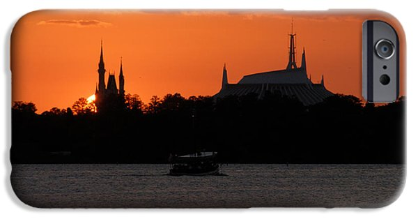 Magic Kingdom iPhone Cases - Heading to the Kingdom of Magic iPhone Case by David Lee Thompson