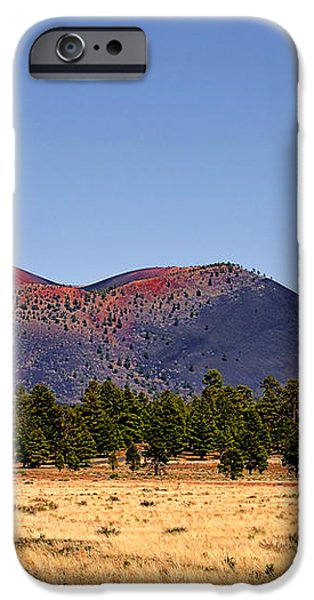 Sunset Crater Volcano National Monument iPhone Case by Christine Till