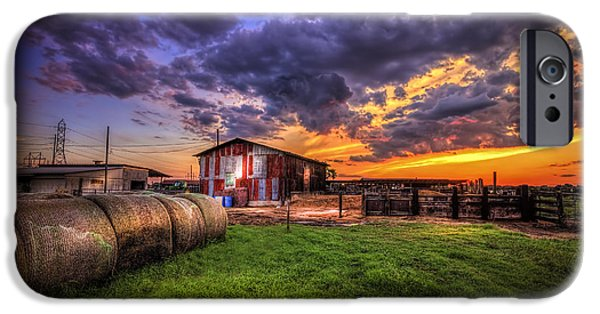 Field. Cloud iPhone Cases - Sunset Dairy iPhone Case by Marvin Spates