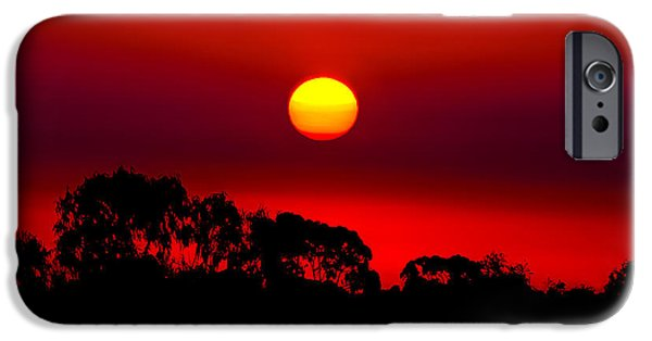 Concept Photographs iPhone Cases - Sunset Dreaming iPhone Case by Az Jackson