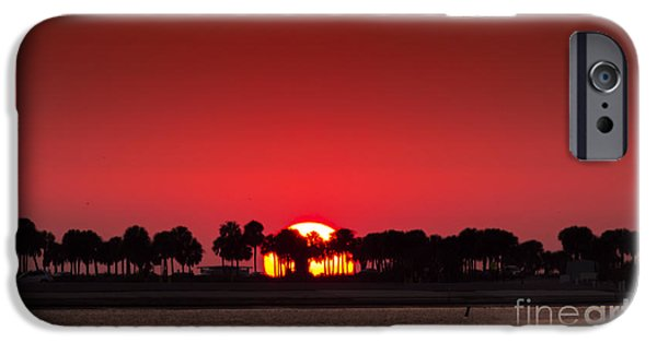 St. Petersburg iPhone Cases - Sunset iPhone Case by Marvin Spates
