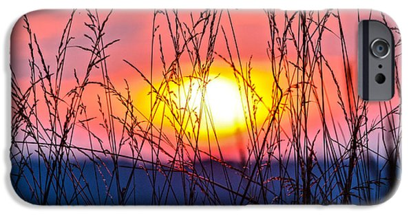 Recently Sold -  - Agricultural iPhone Cases - Sunset on the Prairie  iPhone Case by Parker Cunningham