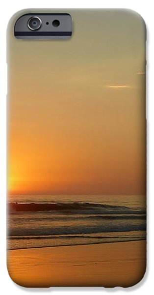 Sunset over La Jolla Shores iPhone Case by Christine Till
