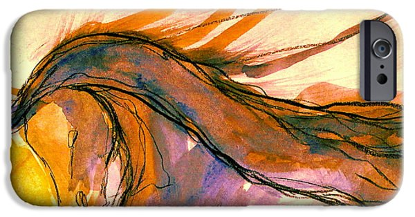 Freedom iPhone Cases - Sunset Submission iPhone Case by Jennifer Fosgate