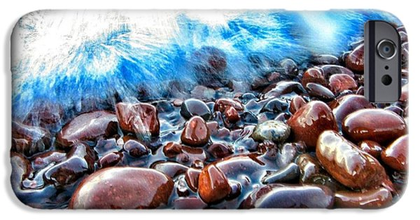 Fury iPhone Cases - Superior Shore  iPhone Case by Scott Wendt Tom Wierciak
