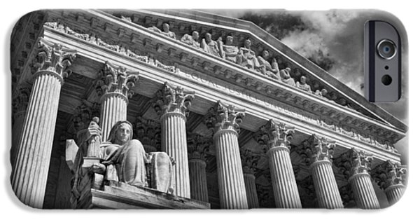 Constitution iPhone Cases - Supreme Court #2 iPhone Case by Stuart Litoff