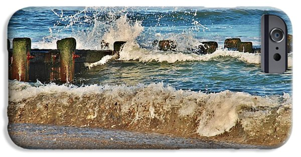 Bay Head Beach iPhone Cases - Surf Stir - Jersey Shore iPhone Case by Angie Tirado