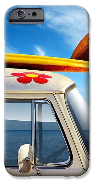 Surf Van iPhone Case by Carlos Caetano