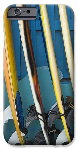Surfboards iPhone Case by Dana Edmunds - Printscapes