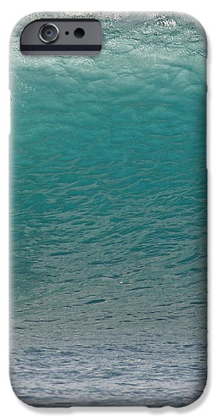 Surfer dropping in the blue waves at Dumps Maui Hawaii iPhone Case by Pierre Leclerc Photography