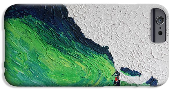 White House iPhone Cases - Surfing 6872 iPhone Case by Robert Yaeger