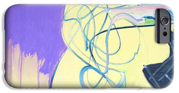 Abstract Expressionist iPhone Cases - Surprises #16 iPhone Case by Philip Rader