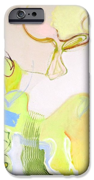 Abstract Expressionist iPhone Cases - Surprises #17 iPhone Case by Philip Rader