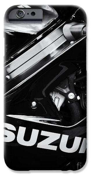 Suzuki iPhone Cases - Suzuki iPhone Case by Tim Gainey