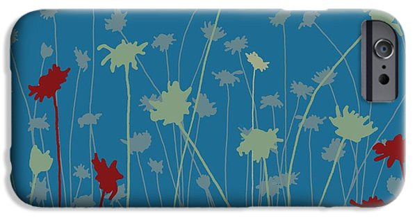 Meadow Digital iPhone Cases - Suzys Meadow iPhone Case by Sarah Hough