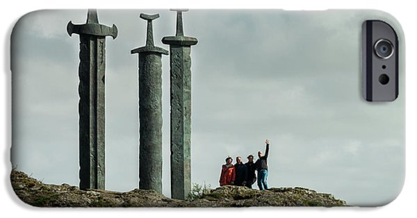 Norway iPhone Cases - Sverd i Fjell iPhone Case by Mirra Photography