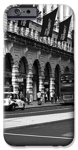 Swallow Street iPhone Case by John Rizzuto